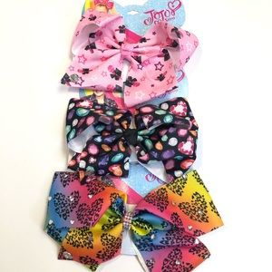 NWT JoJo Siwa hair bows set of 2